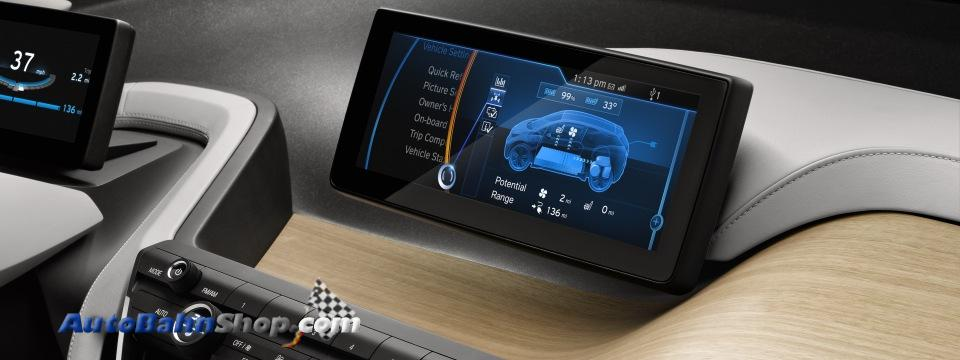 BMW i3 Concept Coupe Dashboard Picture